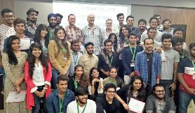 Canada\'s Top media school Vancouver Film School Workshop held at K.E.S college, Mumbai on 10 and 11 March 2017. Coordinated by Computrain  Study Abroad
